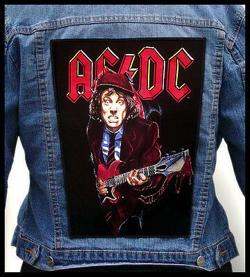 AC/DC - Angus --- Giant Backpatch Back Patch