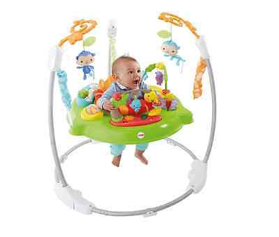 NEW Fisher-Price Rainforest Jumperoo - Baby Swing/Bouncer/Rocker Chair + Toys