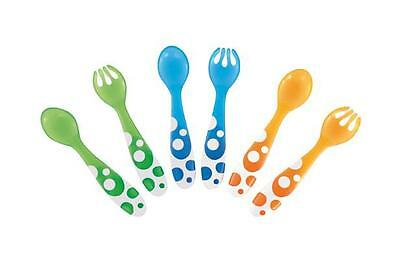 Munchkin Toddler Multi Forks and Spoons 6 Pack