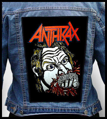 ANTHRAX - Fistful of Metal  --- Giant Backpatch Back Patch