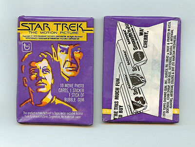 1979 Topps Star Trek single Wax Pack
