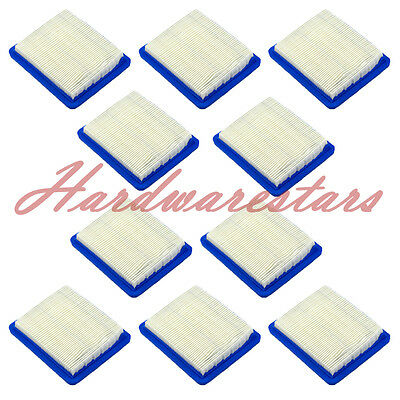10PCS air filters replaces Briggs & Stratton #399959 & #491588S