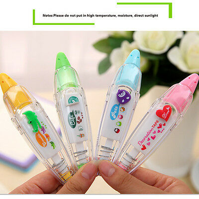 Decorative Stationery Push Correction Tape Lace for Key Tags School Intersperse