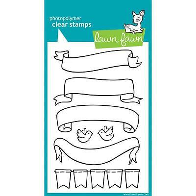 Lawn Fawn - Clear Stamps - Bannerific