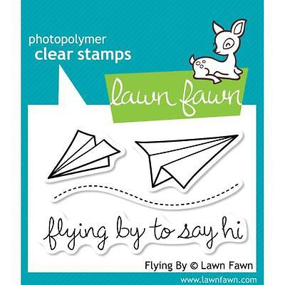 "Lawn Fawn - Clear Stamps - 3""x2"" Flying By"