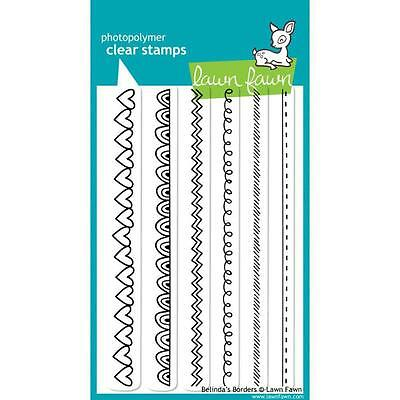 "Lawn Fawn - Clear Stamps - 4""x6"" Belindas Borders"