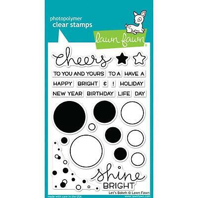 "Lawn Fawn - Clear Stamps - 4""x6"" Lets Bokeh"