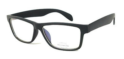 FOCUS ANTI-GLARE Night Driving Glasses Reduce Glare Modern Square Matte Black