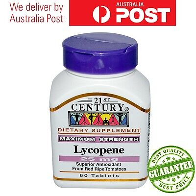 21st Century Health Care Lycopene, Maximum Strength 25 mg 60 Tabs