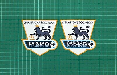 Premier League Gold Champions Patches/Badges 2003-2004 Arsenal