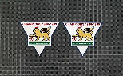 Premier League Gold Champions Patches/Badges 1998-1999 Manchester United