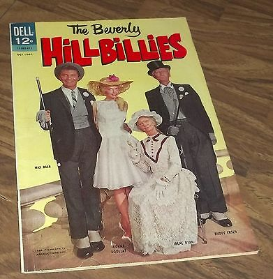 The Beverly Hillbillies #7 Dell Comic In Vg+ 1964