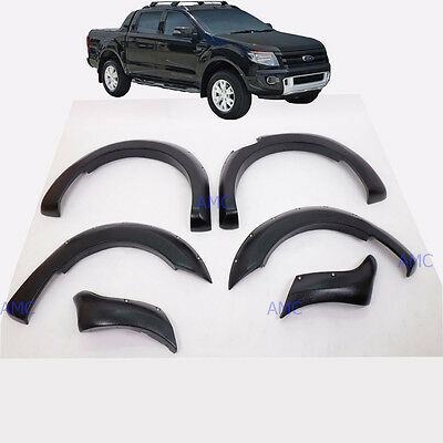"""Fit 12-15 Ford Ranger T6 Fender Flare 6"""" Wheel Arch Wildtrack PX"""