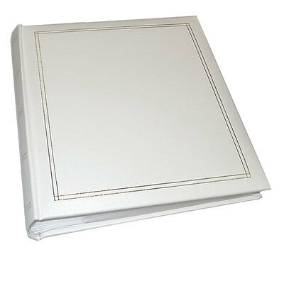 Walther Monza White 6x4 Slip In Photo Album - 200 Photos
