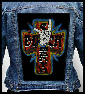 BLACK SABBATH - Mano Cornuta  --- Giant Backpatch Back Patch