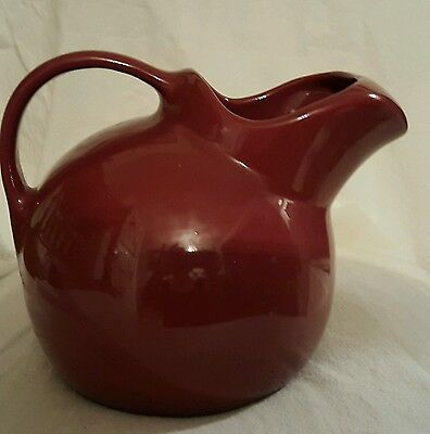 HF Coors Chefsware Ball Jug Water Pitcher with ice lip.