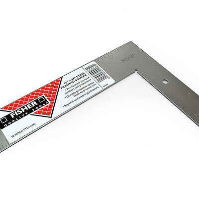 """Fisher F1110IMR steel roofers framing roofing rafter square 16"""" x 24""""  FIS1110"""