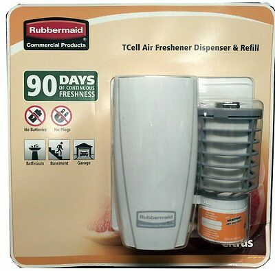 Rubbermaid Commercial Products TCell Air Freshener Dispenser & Refill, New