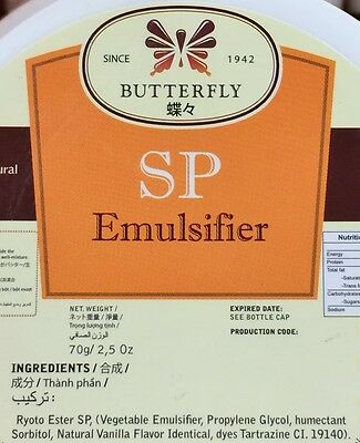 2.5oz Butterfly SP Emulsifier for Cake Batter Dough Indonesia