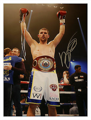 Billy Joe Saunders Signed Boxing Large Photograph : D : New