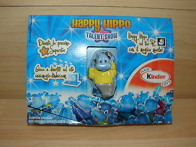 Happy Hippo Talent-Show (Eu) 2009 Sonderfigur Hippo Usb-Stick In Ori Verpackung