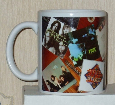 The Free Album Covers Classic rock  collectable  mug