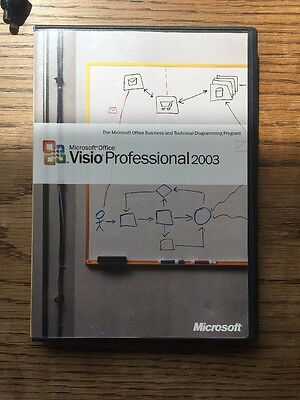 Microsoft Office Visio Professional 2003 Full Version