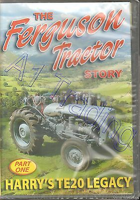 The Ferguson Tractor Story Part 1 Harry's TE-20 Legacy (Farming Documentary DVD)
