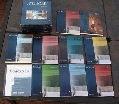 Graphisoft ArchiCAD version 6.5 for MAC complete sealed software