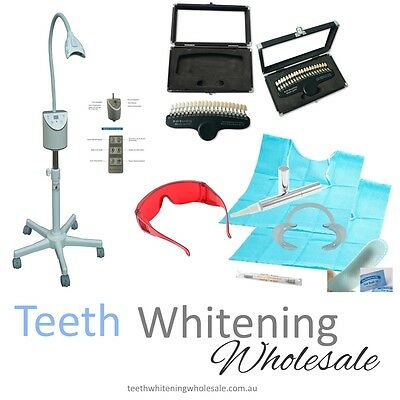 NEW Teeth Whitening System for Beauty Hair Nail Salon Clinic Mobile Australia