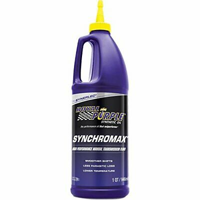 Royal Purple Synchromax Manual Transmission Fluid FAST SHIP 01512