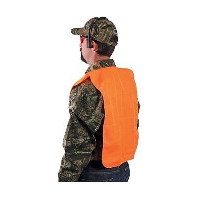 Allen Company Orange Adult Safety Vest Chest Blaze 38-Inch to 48-Inch NO TAX