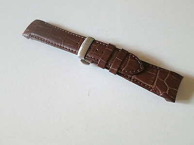 22mm Brown Watch Leather Band Strap For Tissot T035