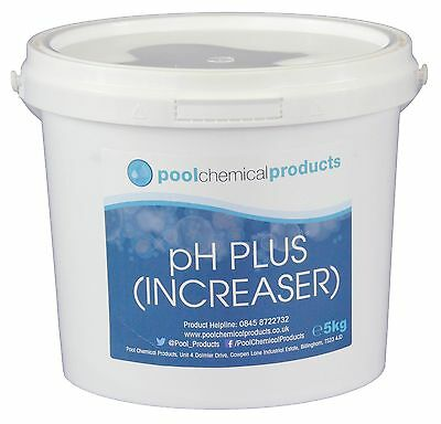 5kg pH Plus (Increaser) for Swimming Pools, Spas and Hot Tubs