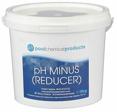 5kg pH Reducer (pH Minus) for Swimming Pools, Spas and Hot Tubs