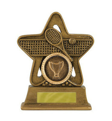 Tennis Trophy Award 110mm FREE Engraving