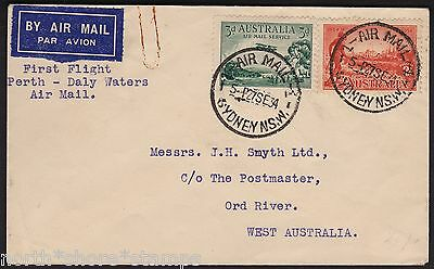 Australia 1934 Perth To Broome MacRobertson Miller Aviation Co Flight Cover