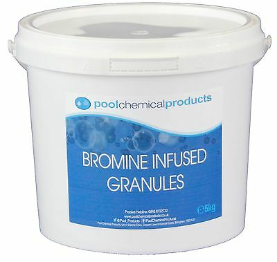 5kg Bromine Infused Granules Swimming pool Spa Hot Tub