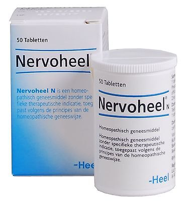 Nervoheel N 50 Relief stress, nervousness, sleep disturbance + during menopause