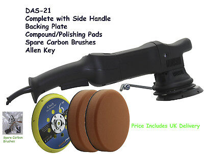 DAS21 Random Dual Action Orbital Machine Polisher Sander Buffer DA 900W
