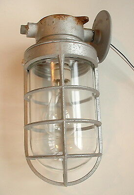 1940's Appleton 200 watt Explosion Vintage Industrial Sconce Porch Light Barn