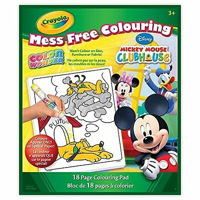 Crayola Color Wonder Book, Mickey Mouse, Packaging May Vary