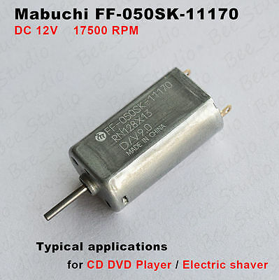 Mabuchi FF-170PA Motor DC3-6V 8000-16000RPM Quiet For Electric Shaver Toy Model