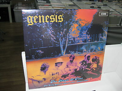 Genesis Lp The Magic Of Time The Early Sessions March 1967- Aug 1968 Sealed