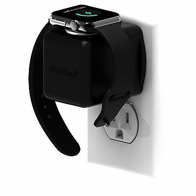 Helix Apple Watch Receptacle Dock Charger Housing (Black)