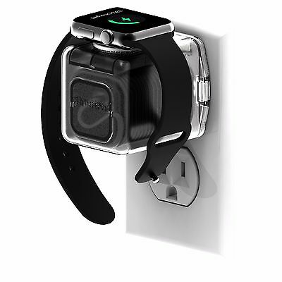 Helix Apple Watch Receptacle Dock Charger Housing (Clear)