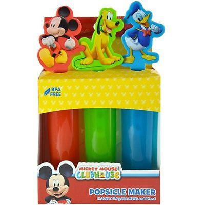 Disney 24 Mickey Mouse & Friends Popsicle Maker 3 Pack Wholesale Retail Lot