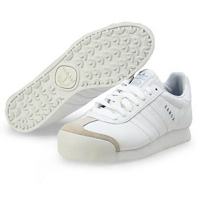 Adidas Samoa Plus Leather Low Sneakers Men Shoes White 133759 Size 10.5 New a4c8362e4