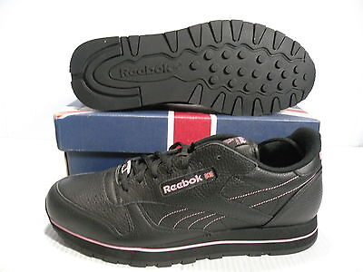 new concept ed467 b2694 Reebok Classic Leather T Se Low Sneakers Men Shoes Black 1-113619 Size 11.5  New