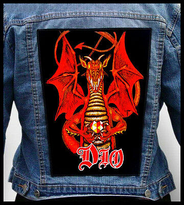 DIO - Dragon  --- Giant Backpatch Back Patch /Rainbow Judas Priest Jag Panzer